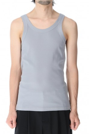 ATTACHMENT 21SS Fresca Rib Tank Top Gray