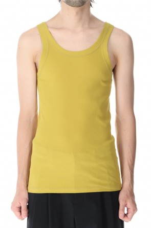 ATTACHMENT 21SS Fresca Rib Tank Top Yellow