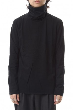 ATTACHMENT 19-20AW Coolmax moclodis wade  turtleneck L/S cut & sewn Black