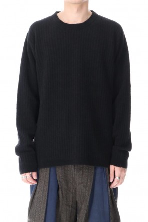 UMA WANG 20-21AW Long Sleeve Knit Top Black