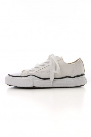 MIHARAYASUHIRO 19-20AW Original sole Canvas Low cut sneaker White