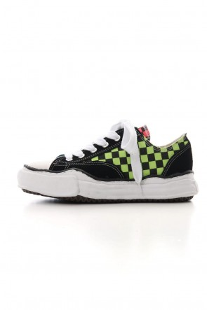 MIHARAYASUHIRO 19-20AW Original sole Canvas Low cut sneaker Check