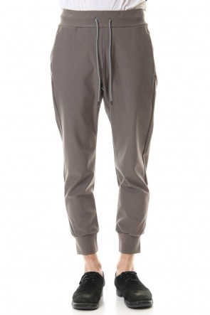 ATTACHMENT 20SS High tension twill Jogger pants D.Beige