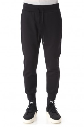 ATTACHMENT 20-21AW Compression punch Jogger pants Black