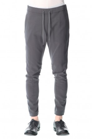 ATTACHMENT 21SS Ta/Pe double face Biker easy pants Gray