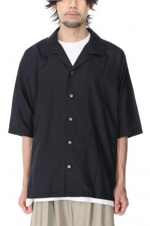 ATTACHMENT 21SS RY/NY Ratine S/S Shirt Black