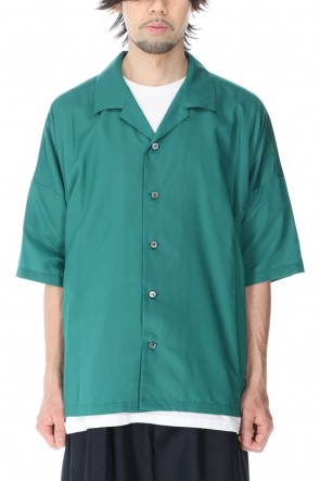 ATTACHMENT 21SS RY/NY Ratine S/S Shirt Green
