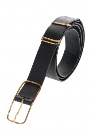 ZIGGY CHEN 20-21AW Cow Leather Belt