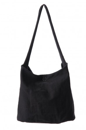 WARE  Heavy Jersey Shoulder Bag Black