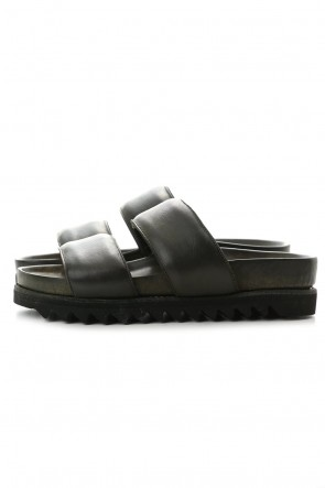 Guidi 20SS Rubber Sole Sandal - Calf Full Grain - BRK03