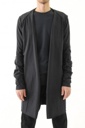 DEVOA 17SS Cardigan Egyptian Cotton Jersey (GIZA)