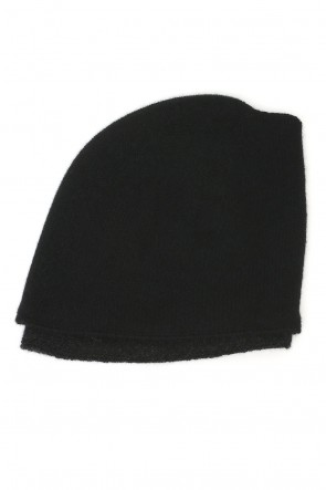 Layered Knit Cap Cashmere