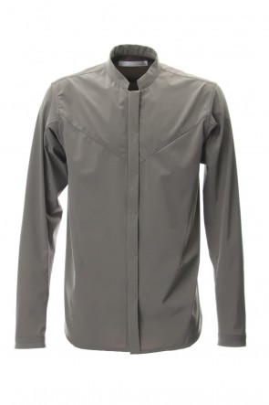 CIVILIZED 19SS STAND COLLAR SHIRT - CG-1810