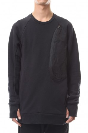 CIVILIZED 19-20AW SURVIVAL CREW NECK TOP BLACK