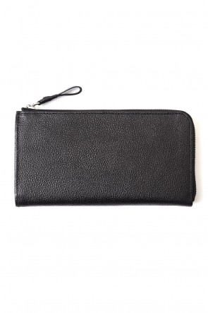 cornelian taurus 20SS Tower Wallet  - Urushi Black