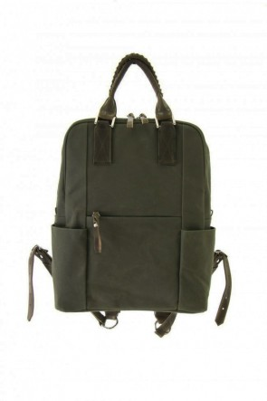 cornelian taurus Classic Connect Ruck 18 - Canvas × Steer Leather