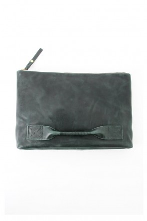 4 handle file - Clutch bag - Green