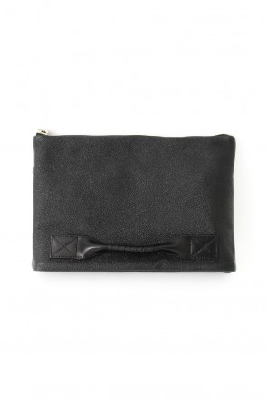 4 handle file - Clutch bag - lacquer steer oil