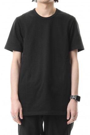 CIVILIZED 19SS CREW NECK SIDEVENT S/S - Black - CM-1802