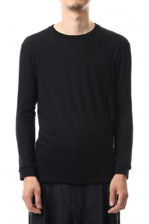 DEVOA 19-20AW Long sleeve cotton angora jersey