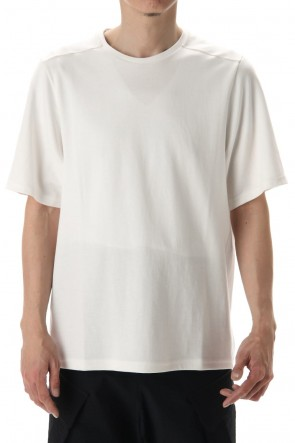 DEVOA 20SS Short Sleeve cotton jersey - Off