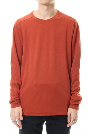 DEVOA 20SS Long Sleeve cotton jersey - Orange