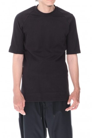 DEVOA 20-21AW Short sleeve Medium soft jersey Charcoal