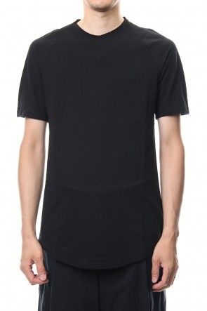 DEVOA 18-19AW Short Sleeve Inlay Knit Jersey