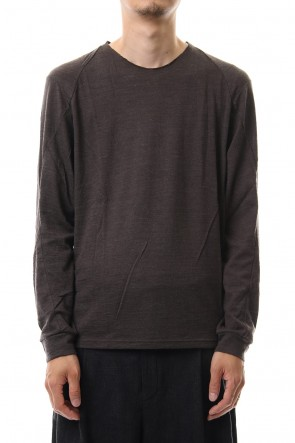 DEVOA 19-20AW Long sleeve wool / alpaca jersey