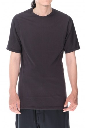 DEVOA 20-21AW Short sleeve indian cotton jersey ( SUVIN )  Charcoal