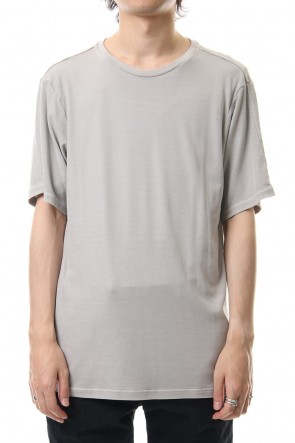 DEVOA 19-20AW Short sleeve egyptian cotton jersey (GIZA)
