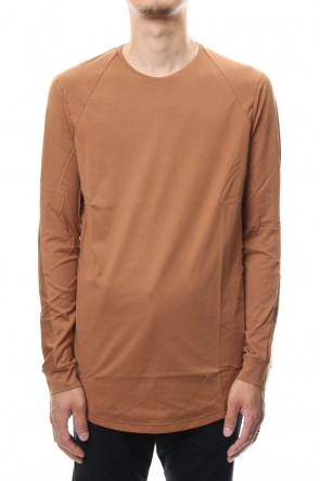 DEVOA 18-19AW Long sleeve  egyptian cotton  jersey ( SUVIN ) Camel