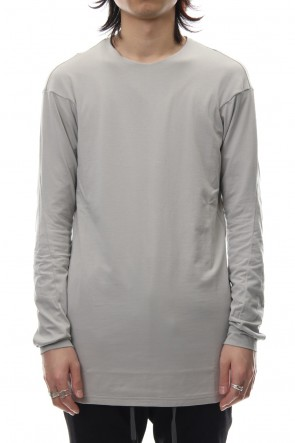 DEVOA 19SS Long sleeve cotton stretch jersey - Plaster