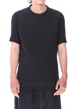 DEVOA 20-21AW Short sleeve soft jersey Black