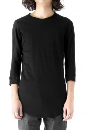 DEVOA 18SS Three-quarter Sleeve Interlock Cotton Jersey