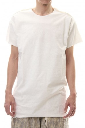 individual sentiments 20SS High twist Cotton jersey T-shirt - CT56S-LJ41