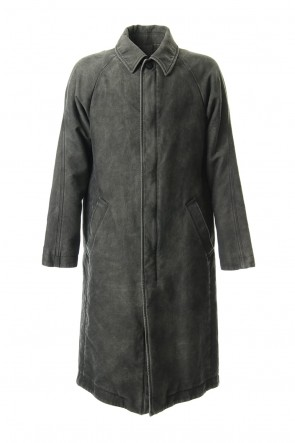 DEVOA 19-20AW Product Dye Opal Processing Soutien Collar Coat