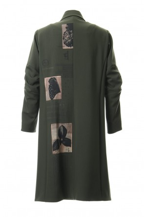 DEVOA 19-20AW 4 Way Stretch Wool Trench Coat