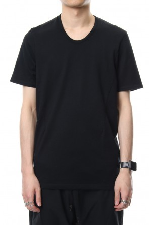 CIVILIZED 19SS U NECK S/S - CVM-0027 - Black