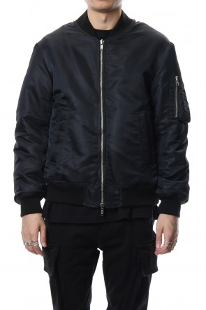 DIET BUTCHER SLIM SKIN 18-19AW Reversible Bomber Jacket