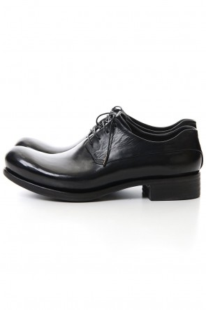 EMATYTE 20-21AW Derby Shoes Horse leather Culatta Shiny Black
