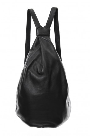 Discord Yohji Yamamoto 18-19AW Tuck Back Pack BIG Soft Leather - DA-I91-790