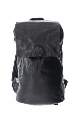 DEVOA 21SS PC backpack GUIDI Horse Leather Black