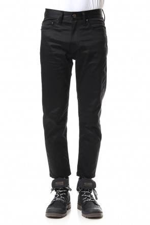 DIET BUTCHER SLIM SKIN 20SS MIDDLE FIT PANTS (SATIN BLK)