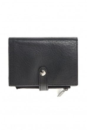 Discord Yohji Yamamoto 19-20AW Loose Leaf Wallet Soft Leather