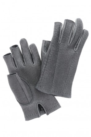 DEVOA 20-21AW FASCNATE Limited Glove peccary leather
