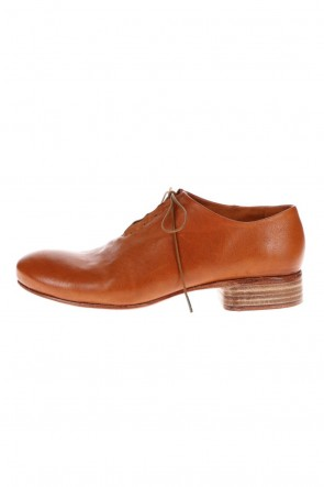 DIMISSIANOS & MILLER 20-21AW W. Hidden Laces Derby Shoes Kangaroo Natural