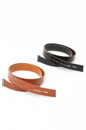 DEVOA 15-16AW Hook belt - Bridle Leather