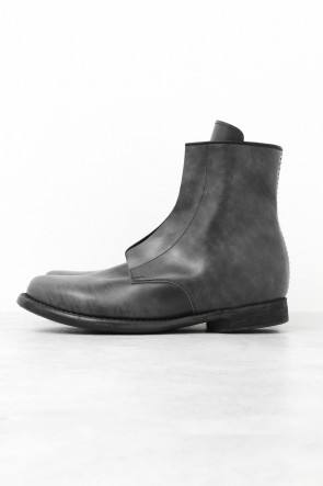 Side Zip Boots Shell Cordovan