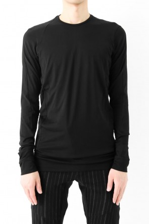 DEVOA 17SS Long Sleeve Cut Sew 80/2 Cotton Jersey